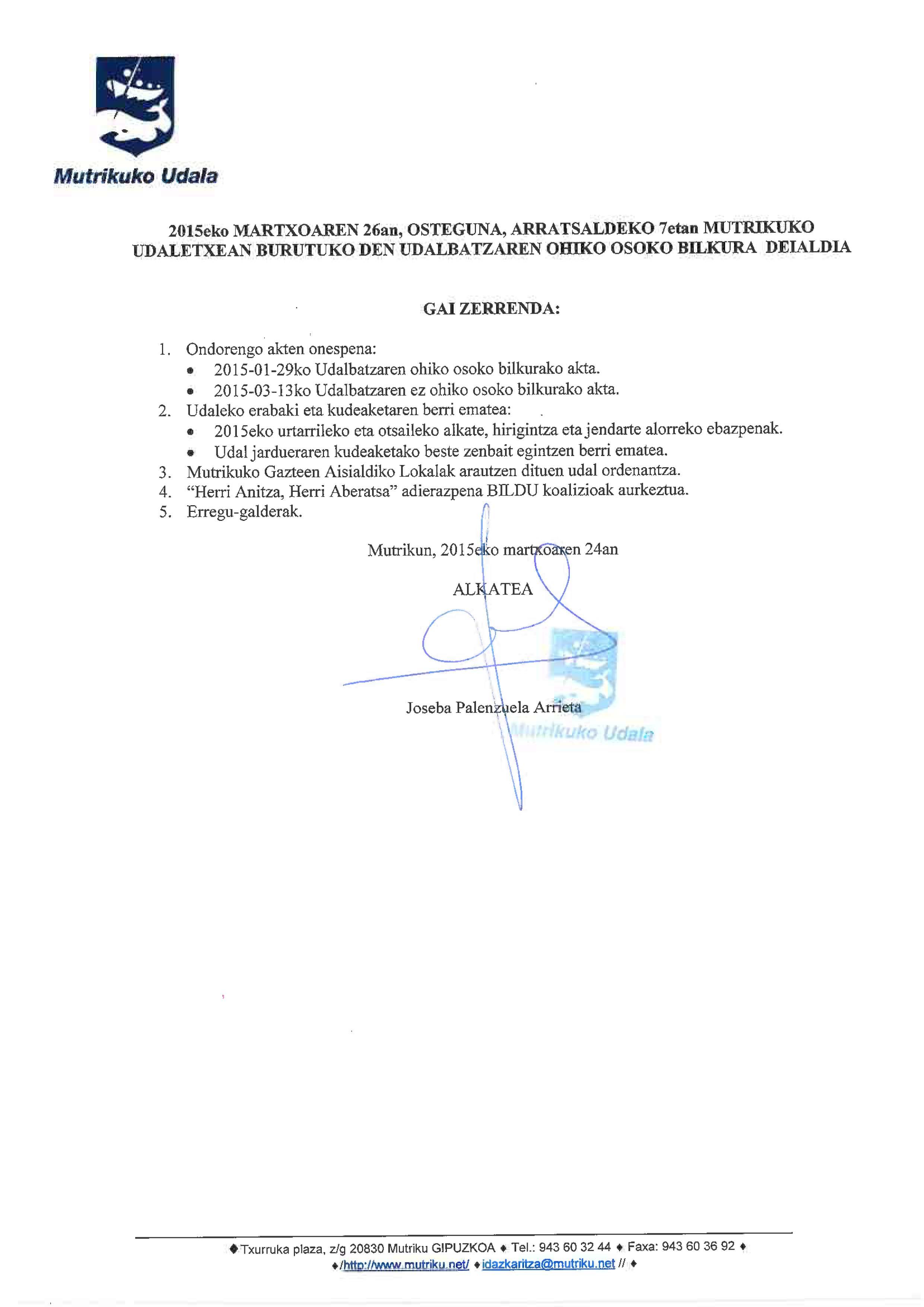 Udalbatza 2015-03