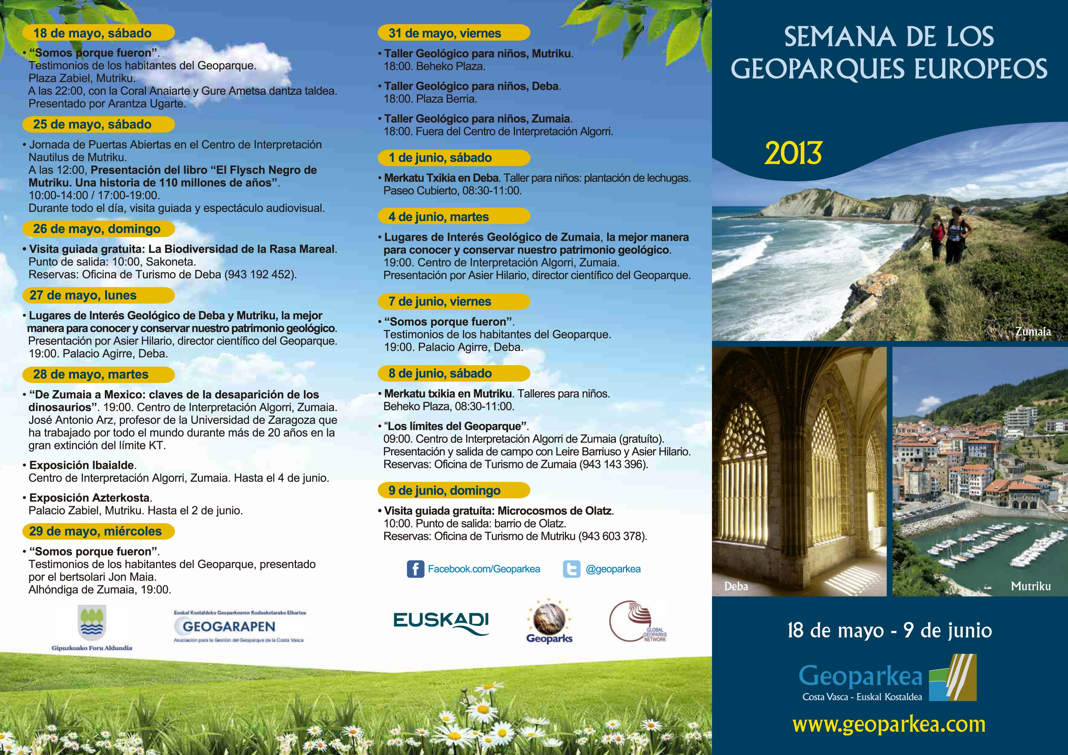 Semana geoparques 2013